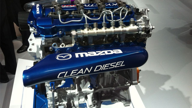Mazda Clean Diesel Engine